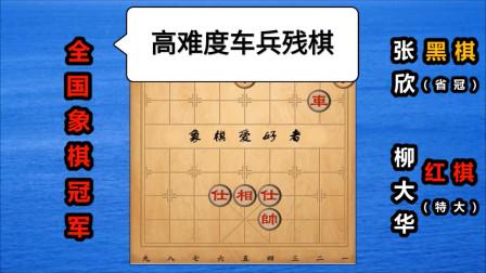 """""""西楚霸王""""柳大华:一代象棋宗师,高难度车兵残棋"""