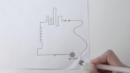 这创意电路笔,每一笔都要仔细思考,正确联通就能导电