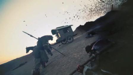 将夜2宁缺桑桑和西陵开战车后面乌鸦大军怪瘆人的