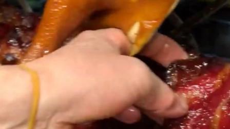 香港烧腊店,斩一条梅头肉叉烧69