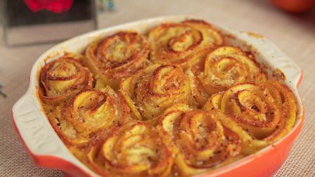 玫瑰苹果派,情人节烘焙料理,用爱烹饪,用心品味!