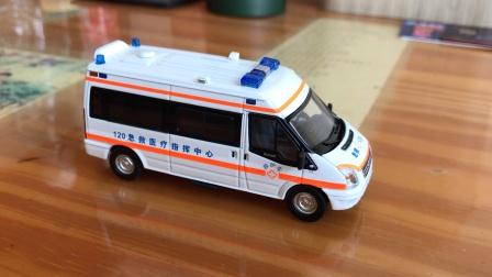 GCD 福特全顺救护车模型添加逼真音效