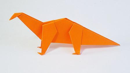 教你折纸恐龙