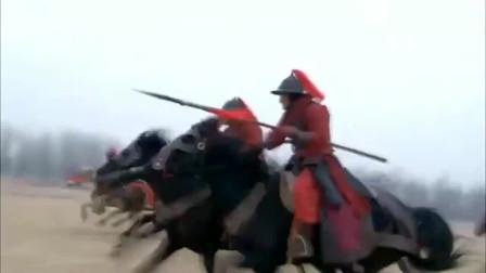 岳飞大战金兀术,战场厮杀到激烈时刻,岳飞最不想看到的事发生了