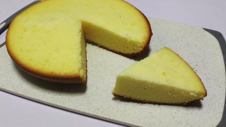 鸡蛋配合常用的几种材料,在家用电饭煲就可以轻松做出来香甜美味的威风海绵蛋糕