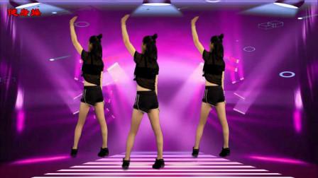 入门零基础健身操《最美的情歌dj》几组简单动作,让你练出好身材,背面