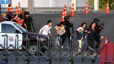 一口气枪杀几十人,泰国老兵和军警交火6小时,还打死上校全家