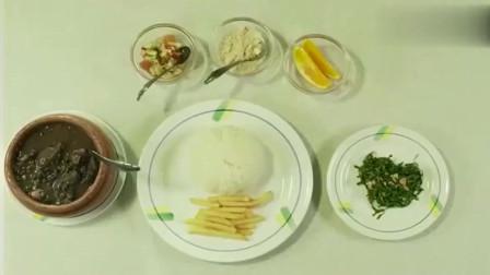 孤独的美食家:让人吃惊的feijoada completa套餐,好吃的不得了!
