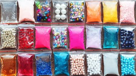 把所有裱花袋里的史莱姆和小零件混合,无硼砂,好减压