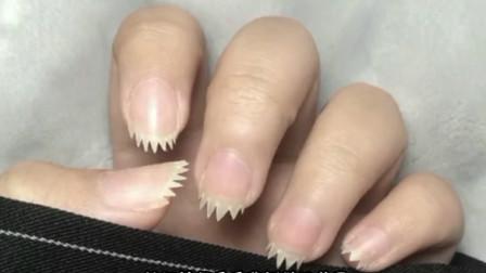 搞笑视频:看我新做的指甲 敢惹我让你变成肉丝