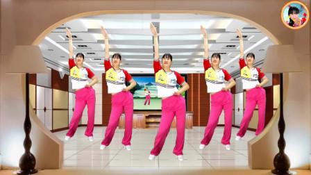 全民运动健身操,简单易学瘦腰瘦臂瘦全身,每天坚持不用节食