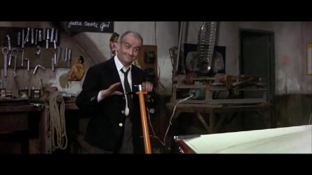 影视:顾客去修车,就像在指挥乐队,看的车铺老板都惊呀了