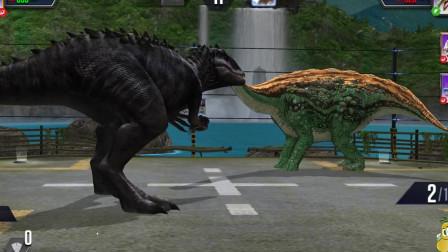 侏罗纪世界的游戏:新一代混合变种恐龙,这是一种什么操作?