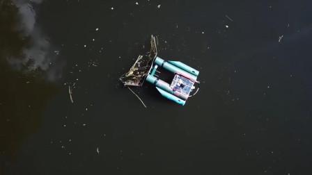 美国人把河道清理,变成了一款可以玩的游戏,让你边玩边清理
