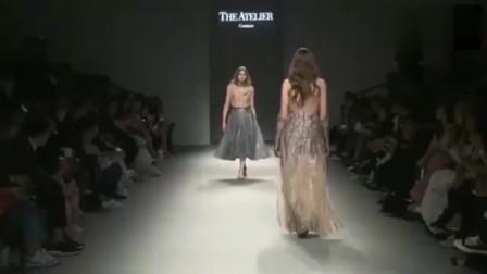 时装秀:最没气质的走秀美女,真是可惜有这么好的身材!
