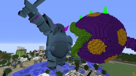 我的世界动画-植物战丧尸 vs 部落冲突-Mobi VS Games