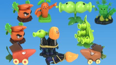 植物大战僵尸之幸好有万竹王的情报,豌豆英它们埋伏到了巡逻小队呢