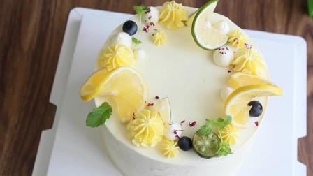 夏日清新,柠檬乳酪蛋糕要不要来一个?