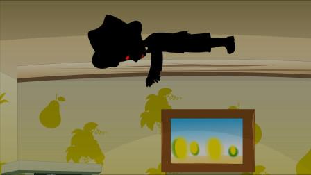 恐怖动画:奇怪,家里明明没有人,女儿怎么说有人跟他捉迷藏