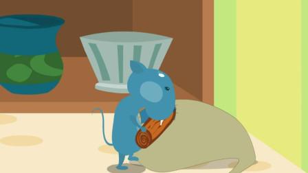嘟拉小故事 铁桶里的老鼠