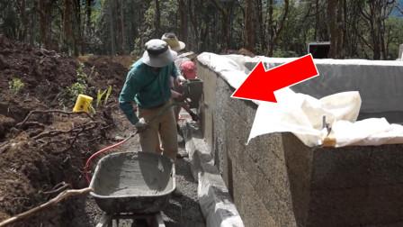 """40岁修理工大叔发明""""抹墙""""神器,一天能抹400平米!造价仅600元"""