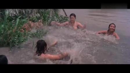 你大爷还是你大爷,一个人干掉一只鳄鱼!