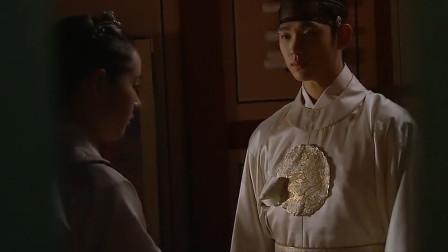 经典韩剧:心机王后看望王上,看到王上深情看着巫女,气愤啊