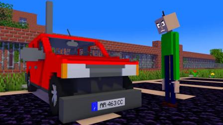 我的世界动画-怪物学院-巴迪赛车-Intalord