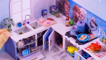 DIY手工:制作迷你小厨房,真的好喜欢呀