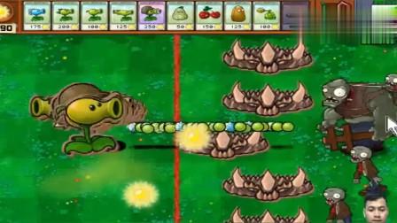 植物大战僵尸:豌豆重叠了