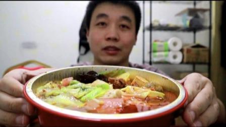 外卖18.9元火锅冒菜豪华套餐,老板直接给20多种菜,吃爽了