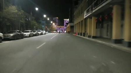 2月18日:解除街头卡口下的老城区文清路