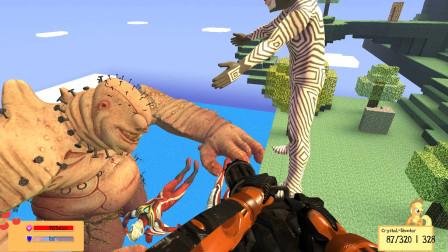 GMOD游戏达达星人把奥特曼从天堂扔下去喂怪兽怎么办?