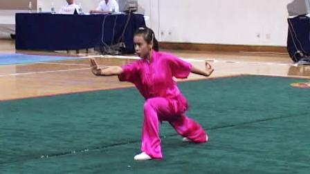 2005年全国青少年武术套路冠军赛 女子规定拳 006 女子少年规定拳