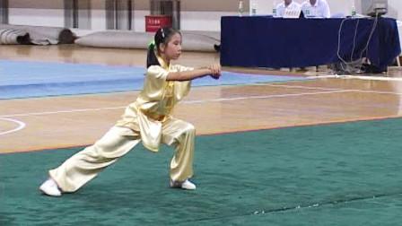 2005年全国青少年武术套路冠军赛 女子规定拳 008 女子少年规定拳