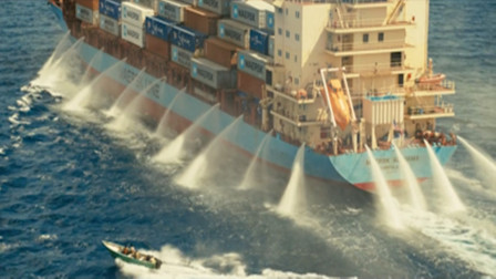 美国货轮遭遇索马里海盗,四人结成小队,一登船开出天价!