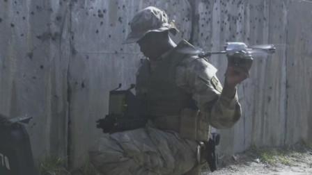 无人机侦查制胜的法宝,美国士兵爱用无人机侦查敌情