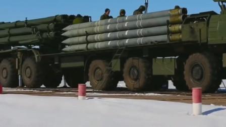 来自北方的死亡风暴俄罗斯龙卷风火箭炮