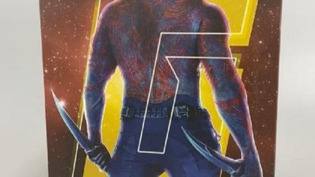 开箱毁灭者Drax,明明在漫画中是实力派,电影里却成了搞笑担当...