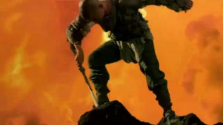 年轻人拿到一把神剑不会用,谁知他用力一挥宝剑把他带上了天空