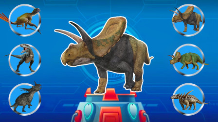 一起动动手 帮助恐龙们找到对的图案