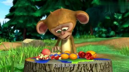 熊出没电视里播放爱心盒饭,强哥开始幻想,谁能给他做爱心盒饭