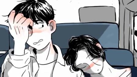 男孩坐公交车时,偶遇心中女神,他有了奇怪的想法
