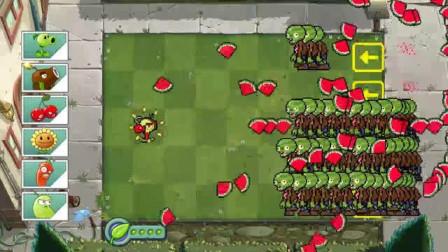 我的世界动画-植物战丧尸-火豌豆+红辣椒-MIMO HD