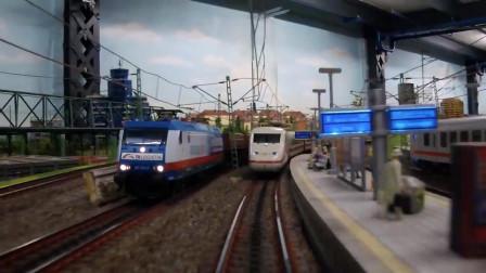 世界上最大的火车模型组,感受一下微观世界的工匠精神