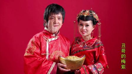残疾小夫妻虽然没有婚礼,但是有婚纱照留念跟大家一起分享