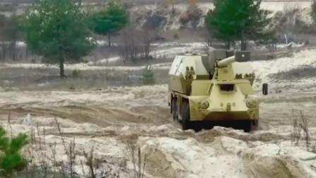 """轮式装甲车和坦克结合,轮式火炮的先驱捷克""""达纳""""自行火炮"""