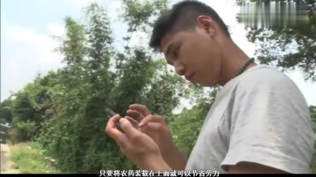 日本节目:中国农村开始用科技种地,无人机来撒农药省时省人力!