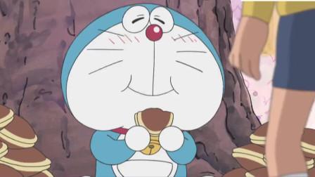 哆啦A梦:哆啦A梦太能吃了,把铜锣烧树都吃倒了
