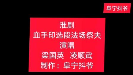 淮剧:血手印选段法场祭夫,梁国英   凌顺武 演唱,制作:阜宁抖爷